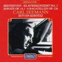 ベートーヴェン:ピアノ協奏曲第2番、ピアノ・ソナタ第9番、6つのバガテル ゼーマン