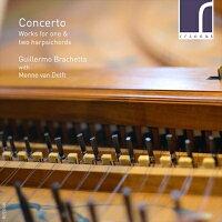 CONCERTO1台、2台のハープシコードのための音楽集