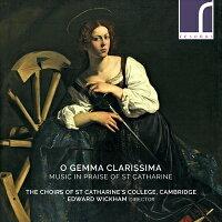 おお、明るい宝石聖カタリナを称賛する音楽集