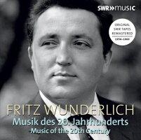 フリッツ・ヴンダーリヒ20世紀の音楽集[3枚組]