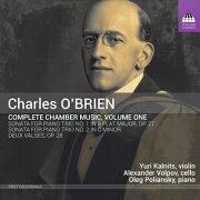 オブライエン: 〈室内楽作品全集 第1集〉 ピアノ三重奏のためのソ...