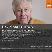 マシューズ: 無伴奏ヴァイオリンのための作品集 第2集