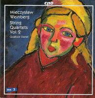 ワインベルク:弦楽四重奏曲集第2集