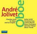 アンドレ・ジョリヴェ:オーボエとコーラングレのための室内楽作品集