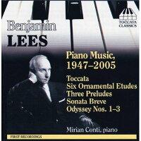 リース:ピアノ作品集(1947-2005)(コンティ)