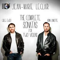 ジャン=マリー・ルクレール:2台のヴァイオリンのためのソナタ全集
