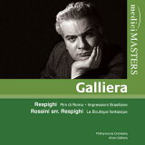 レスピーギ:ローマの松、ブラジルの印象、他 ガリエラ&フィルハーモニア管弦楽団