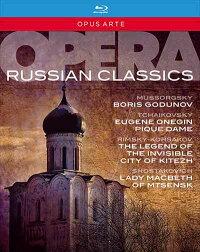 ロシア・オペラ・クラシックス[Blu-ray,5Discs]