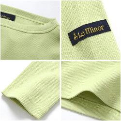 【21SSコレクション】,Leminor〔ルミノア〕,LMRIB113,BBORDEE/マイクロリブボートネックカットソー
