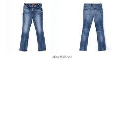 【21SSコレクション】,REDCARD〔レッドカード〕,26445S-akm,WoodstockS/ブーツカットスリットストレッチデニムパンツ(akira-MidUsed)