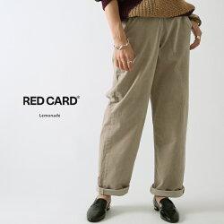 【19AWコレクション】,REDCARD〔レッドカード〕,41463-lat,Lemonade/サイドジップコーデュロイランチパンツ(Latte)