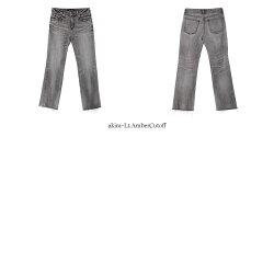 【21AWコレクション】,REDCARD〔レッドカード〕,60442-alac,MarmaladeMidrise/グッドフレアデニムストレッチパンツ(akira-Lt.AmberCutoff)