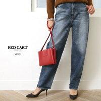 【18SSコレクション】RED CARD〔レッドカード〕71459-akmVictory/ハイライズルーズテーパードデニムパンツ(akira-Mid Used)