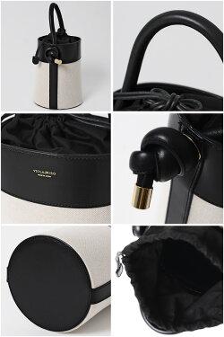 【21AWコレクション】,VIOLAd'ORO〔ヴィオラドーロ〕,V-1367C,キャンバス×レザーコンビバケツハンドバッグ