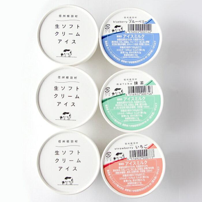 南信州生まれのアイス『生ソフトクリームアイス』が入った詰め合わせ16個 限定50セット! アイスクリーム :a07