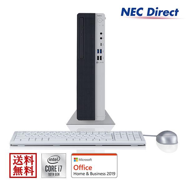 Web モデル NECデスクトップパソコンLAVIEDirectDT(Corei7搭載・8GBメモリ・512GBSSD・1TB