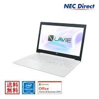 PC-GN11EJRAD(NECノートパソコンLAVIEDirectNS(ホワイト)【Pentium/4GB/500GB/OfficeHome&Business2019/1年保証】)