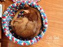 【送料無料】 necono 猫 ベッド おしゃれ 『 Cat Bed 』 ウール100% フェルトボールベッド 猫グッズ