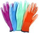 ウレタン手袋♪ウレタン背抜きメガグローブアソート【5色×2組】10双入り