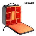 Neewer 防水耐衝撃 カメラパッド入りバッグ デジタル一眼レフカメラ専用 カバー・ケース ミラーレスカメラやレンズ、バッテリーと充電器、ケイブおよび他のカメラアクセサリー収納可能