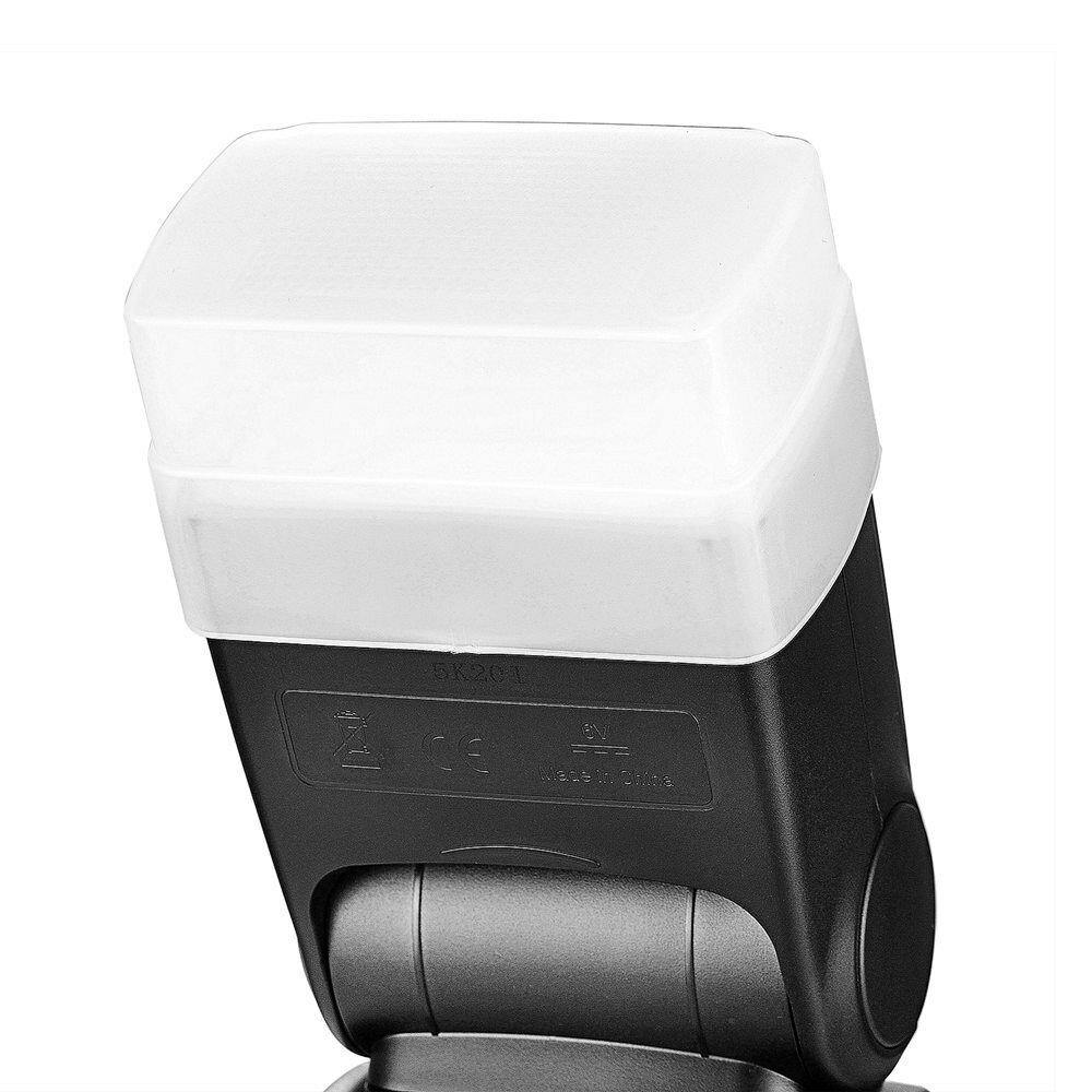 NeewerカメラのフラッシュバウンスライトハードディフューザーNEEWERTT560TT520フラッシュスピードライト用