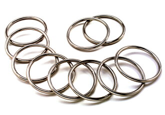Stainless steel round ring 5 x 60 mm the water machinery Mfg. co., Ltd.]