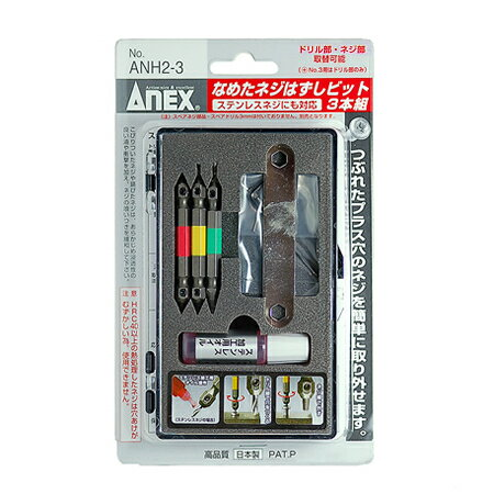 Screws remove the bit licked ANEX, annex [three combinations and M2.5-M8 screw and stainless age management]