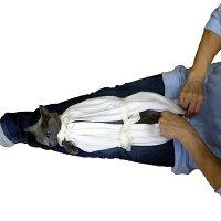 治療用猫袋ー猫爪に強い8号帆布