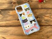 猫とマカロンiPhone11Pro用ハードケース・クリア01