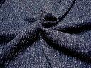 細かいシャーイングニット☆デニム色に染めてみましたデニムニットシャーリング01