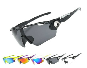 スポーツサングラス UV400 レーシング 超軽量 紫外線カット ミラーサングラス メンズ レディース サイクリング バイク スキー 登山 アウトドア