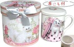 猫好きさんへのプレゼントに♪【ギフトマグカップ】ネコ♪