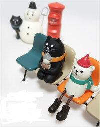 スマホスタンド三毛猫