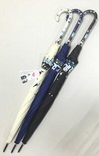 60cmジャンプ傘ブラック・耐風傘*数量限定販売