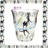 【キュートな黒猫】NEKOにゃ〜ごグラス花