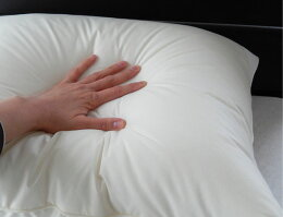 【ふんわり頭を包み込む洗える枕大きめ50×70cmインビスタ社ダクロン・デュラライフまくら】日本製ふっくら弾力ウォッシャブル