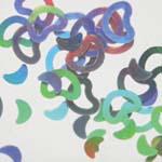 MysticFlakes ホロシルバー/ハート&ムーン 0.5g【ネイルアート/アートアクセサリー/ラメ/ホログラム/グリッター/ネイル用品】