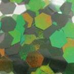 MysticFlakes オーロラグリーン/ヘキサゴン 2.5mm 0.5g【ネイルアート/アートアクセサリー/ラメ/ホログラム/グリッター/ネイル用品】