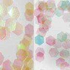MysticFlakes オーロライエロー/ヘキサゴン 2.5mm 0.5g【ネイルアート/アートアクセサリー/ラメ/ホログラム/グリッター/ネイル用品】