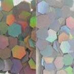MysticFlakes ホロシルバー/ヘキサゴン 2.5mm 0.5g【ネイルアート/アートアクセサリー/ラメ/ホログラム/グリッター/ネイル用品】
