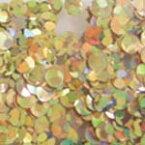 MysticFlakes ホロスパークゴールド/ヘキサゴン 2.5mm 0.5g【ネイルアート/アートアクセサリー/ラメ/ホログラム/グリッター/ネイル用品】