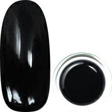 para gel カラージェル M006 ブラック 4g【ソークオフ/カラージェル/ジェルネイル/ネイル用品】