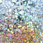 MysticFlakes ホロスパークシルバー ヘキサゴン 1mm 0.5g【ネイルアート/アートアクセサリー/ラメ/ホログラム/グリッター/ネイル用品】