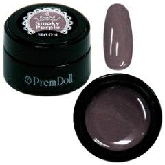 PREGEL プリムドール DOLL-604 スモーキーパープル 3g【ソークオフ/カラージェル/ジェルネイル/...