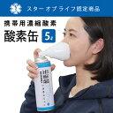 携帯用濃縮酸素 酸素缶 5リットル(1本)| 日本製 消費期
