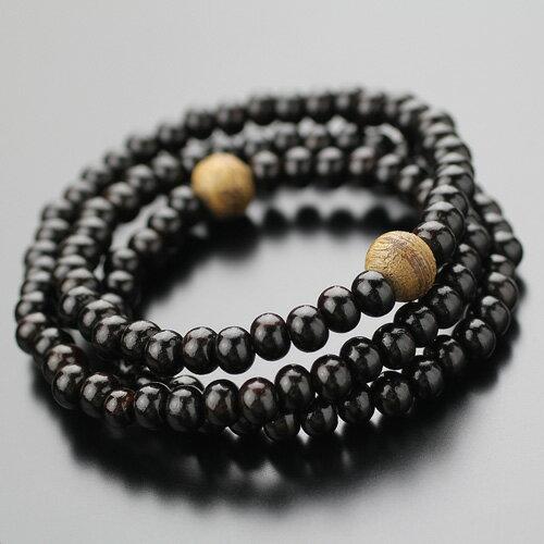 数珠ブレスレット 腕輪念珠 108珠