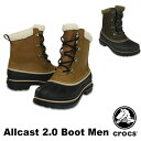 クロックス(CROCS) オールキャスト 2.0 ブーツ メン(allcast 2.0 boot men) メンズ ブーツ【ショートブーツ 秋冬 男性用】 送料無料 [CC]【20】