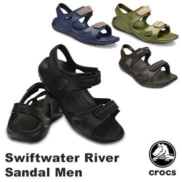 【送料無料】クロックス(CROCS) スウィフトウォーター リバー サンダル メン(swiftwater river sandal men)【男性用】【楽ギフ_包装選択】【r】【20】[BB]