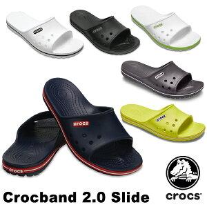 クロックバンド 2.0 スライド(crocband 2.0 slide) メンズ/レディース サンダル