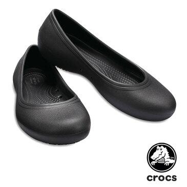 【送料無料】クロックス(CROCS)クロックス アット ワーク フラット ウィメン(crocs at work flat w) /レディース パンプス【女性用】【楽ギフ_包装選択】【r】【15】[AA]